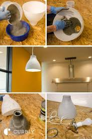 make your own pendant light. Make Your Own Pendant Light New Ikea Hack How To A Modern Concrete Lamp