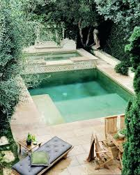 square above ground pool. Square Pools Small Backyard Great Use Of Space Pool Spa And Above Ground