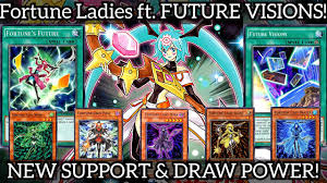 Fortune Lady Light New Fortune Ladies Ft Future Visions New Support Pot Of Greed Yu Gi Oh Duel Links