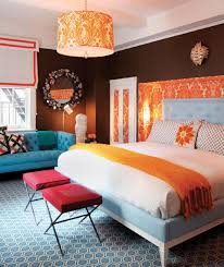 Orange And Blue Bedroom 100 Stunning Master Bedroom Design Ideas And Photos