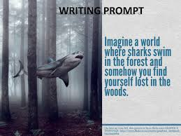 Writing Prompts  Rainforest Visual Story Prompts ppt