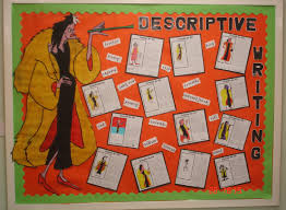 descriptive writing classroom display photo sparklebox