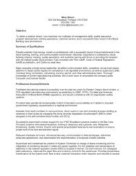 ... Combination Resume Example A Combination Resume Contains The o98i ...