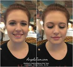quinceanera makeup artist and hair stylist team angela tam los angeles orange county events makeup artists