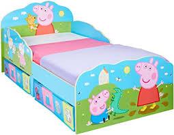 Seleziona la categoria in cui desideri effettuare la ricerca. Hellohome Peppa Pig Lettino Per Bambini Con Contenitore Sottoletto In Legno Multi 142 X 77 X 63 Cm Amazon It Casa E Cucina