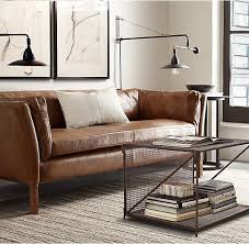 Sectional Sorensen Leather Sofa Starting At 1780 From Restoration Hardware Costco Wholesale 11 Stylish Modern Leather Sofas Home Pinterest Leather Sofa