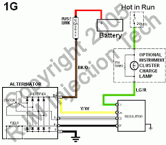 ford g alternator wiring diagram ford image fuel injection technical library alternator files on ford 6g alternator wiring diagram