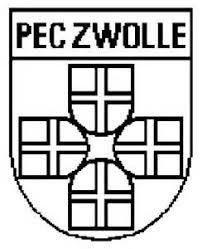Kleurplaat Supportersclub Pec Zwolle