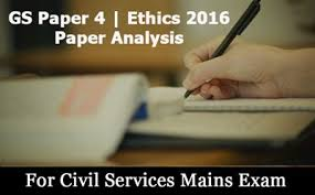 general studies paper ethics paper analysis by pavan  ethics question paper 2016