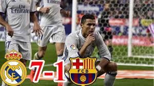 Real Madrid vs Barcelona 7-1 El Clasico 2017 | Highlights & Goals