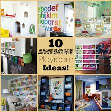 10 Awesome Ideas for a Child's Playroom