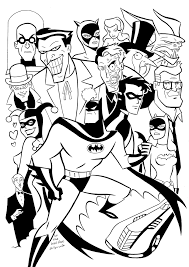 Small Picture Animated Batman Coloring Pages Batman Beyond Animated Series