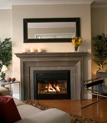 install gas fireplace in basement