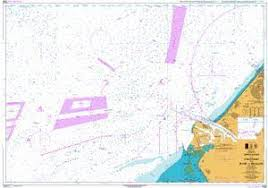 Nautical Charts Netherlands British Admiralty Nautical Chart 122 North Sea Netherlands Approaches To Europoort And Hoek Van Holland