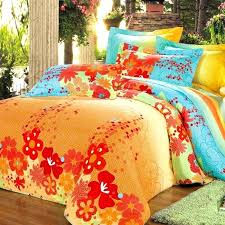 orange and green bedding green paa table lamps orange blue green comforter