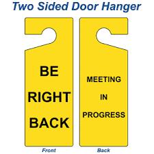 Do Not Disturb Meeting In Progress Sign Be Right Back Meeting In Progress Sign Nhe 18081 Do Not Disturb