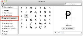 Symbols On Keyboard Type Foreign Currency Symbols In Mac Os X Osxdaily
