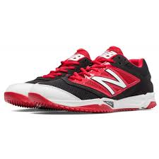 new balance shoes red and black. new balance t4040br3 - black/red 4040v3 baseball turf shoes red and black r