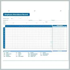 Attendant Sheet Free Attendance Sheet Employee Template Download Templates