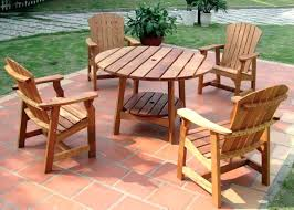 round wooden garden table wooden garden furniture clearance round picnic table with four deck chairs wooden