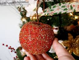 German Glass Glitter Christmas Ornaments - Dream a Little Bigger