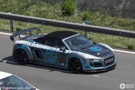 Audi Stasis Engineering R8 V10 Spyder - 11 April 2018 - Autogespot