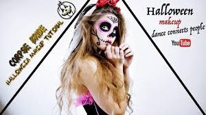 dead bride halloween makeup tutorial
