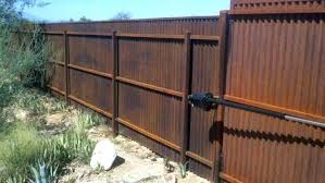corrugated metal fence panels steel lovely and gates a affordable w
