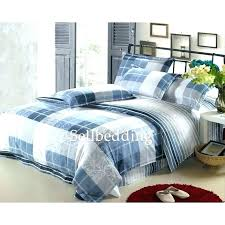 plaid flannel duvet cover queen thicken cartoon soft breathable quilt