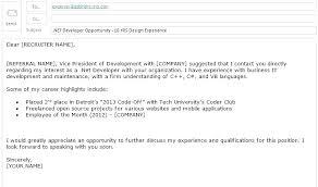 Sample Email Sending Resume Resume Sample Source