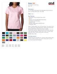Anvil Youth Shirt Size Chart Www Bedowntowndaytona Com