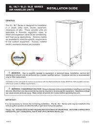 Allstyle Coil Piston Chart Hydronic Installation Manual Manualzz Com