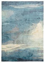 abstract monet rug