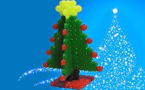 Beaded Christmas Tree Ornaments  Christmas Lights DecorationPerler Beads Christmas Tree