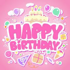 happy birthday design creative happy birthday design elements vector art free vector in