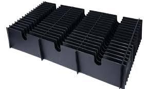 black corrugated plastic customize black corrugated plastic dividers whole black plastic corrugated ditch culvert pipe