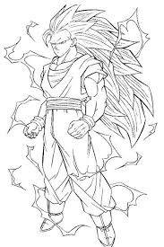 Dragon Ball Z Coloring Pages Goku Super Saiyan Coloring Pages
