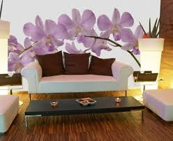 Small Picture murals for walls Orchid Wall Murals For Modern Wall Decor Orchid