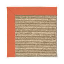 capel rugs zoe sisal sorrel indoor outdoor area rug common 12 x