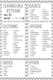 list for traveling printable packing list packing list for travel packing