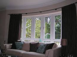 Kitchen Bay Window Treatment Bay Window Treatments For Living Room Living Room Design Ideas