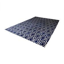one kings lane blue and white patterned rug one kings lane rugs