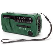 <b>De13 Portable Fm Am</b> Radio Solar Emergency Radio World ...
