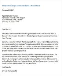 Recommendation Letter For Colleague Sample Coworker Recommendation Letter 15 Coworker