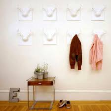 office coat hooks. Creative Wall Hanger Ideas For Your Home : White Hallway Coat Rack Clothes Inspired From Office Hooks