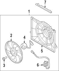 parts com® hyundai santa fe radiator oem parts 2011 hyundai santa fe se v6 3 5 liter gas radiator