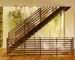 Amazing of Design For Staircase Railing Wood Stair Railing Ideas Pictures  Remodel And Decor