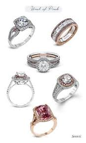 simon g jewelry 2017 trends enement rings rose gold white