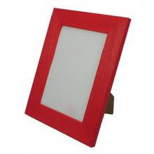 Red Photo Frames Coloured Frames