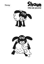 Small Picture Shaun The Sheep Coloring Pages chuckbuttcom